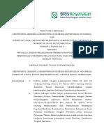 PB Setjen KEMKES Dan DIRUT BPJS Ttg JUKNIS Pelaksanaan Pembayaran Kapitasi