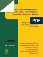 E-Book Tres miradas latinoamericanas a la justicia penal internacional Colombia, Honduras y México.pdf
