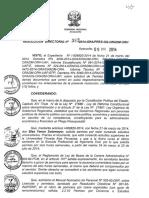 Licencia RD 382 2014
