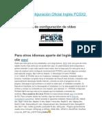 Guía de Configuración Oficial Inglés PCSX2 v1