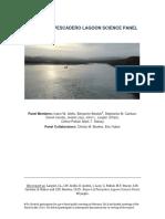 2016 Report of Pescadero Lagoon Science Panel