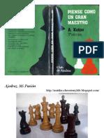 Piense Como Un Gran Maestro_Alexander Kotov
