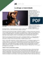 Diário do Pará - Leona Vingativa atinge a maioridade