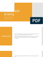 BIM Briefing Coursework