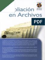 La Foliación en Archivos