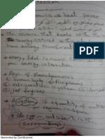 Thermodynamics Revision