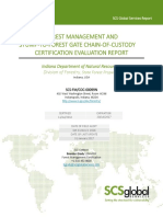 Forest Stewardship Council 2016 Audit Report