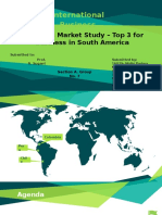 Emerging market trends in South America