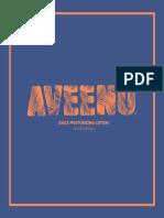 Aveeno Pitch Book