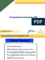 Encuesta Nacional de Hospitales en 2017 registra que 54% de los quirófanos no están operativos