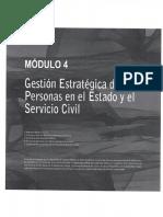 Gestion Estrategica de Las Personas de Las Personas en El Estado y El Servicio Civil
