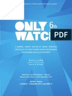 ONLY WATCH 6th Edition 2015