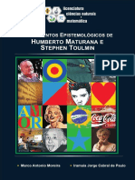 Fundamentos Epistemologicos Humberto Maturana e Toulmin