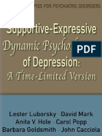 Supportive Expressive Dynamic Psychotherapy of Depression