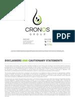 CronosGroup Investor Deck Jan 17