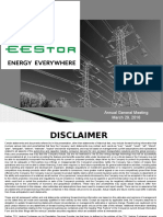 Eestor Corp Agm March 29