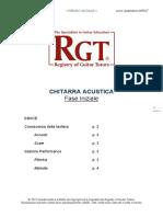 Traduzioni RGT. Acustica Fase Iniziale