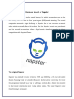 1. Business Model of Napster