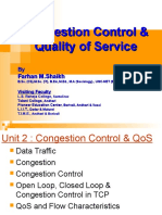 Congestion Control and QoS