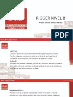 Curso Rigger Nivel B