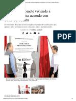 11Marzo2017 Peña Nieto Promete Vivienda a Migrantes Firma Acuerdo Con CONAVI y SEDATU