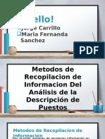 Presentacion Analisis y Descripcion de Puestos