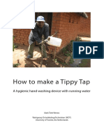 Alive and Well Poster Make a Tippy Tap Instructions