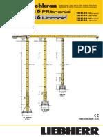 Grúa Torre Liebherr 150EC-B6 (t)