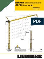 Grúa Torre Liebherr 280HC-L12 24 (t)
