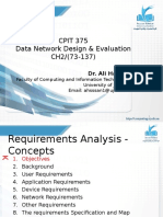 [2] Network Requirements Analysis - Concepts