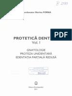 Protetica Dentara Forna Vol I