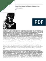 Réification et antagonisme. L'opéraïsme, la Théorie critique et les apories du « marxisme autonome » -  Frédéric Monferrand et Vincent Chanson