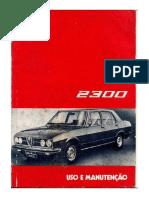 Alfa 2300-74 Manutenção e uso.pdf