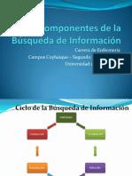 1. Componentes de La Búsqueda de Información