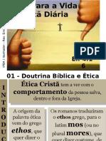 01 - Doutrina Bíblica e Ética Cristã