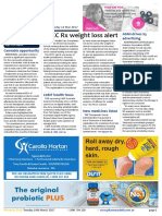 Pharmacy Daily for Tue 14 Mar 2017 - HCCC Rx weight loss alert, Expert warns on chemist vax, ASMI drives S3 advertising, Guild Update and much more