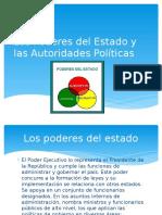 Los Poderes Del Estado y Las Autoridades Políticas