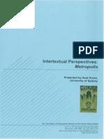 AIS Booklet Intertextual Perspectives Metropolis