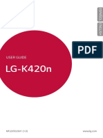 Manual LG K10