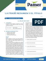 AV_Sem_11_La Frase Resumen y El Titulo