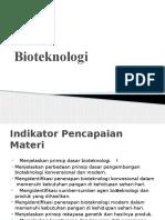 Bioteknologi kelas 9
