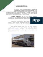 Camion Cisterna