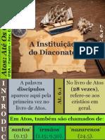 13 - A Instituição do Diaconato.pptx