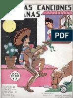 Famosas Canciones Mexicanas, No 3