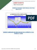 Presión Gremial Continúa_ Por Suba de La Inflación Pedirán Paritarias Con Piso Mas Alto