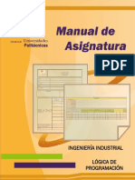 Manual de Asignatura Logica de Programacion