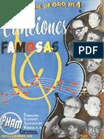 Famosas Canciones Mexicanas, No 4