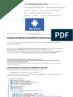 Consumir Un Web Service NuSOAP en Android Usando KSOAP2