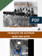 Curso NOM-009  STPS   TRABAJOS EN ALTURAS.pptx
