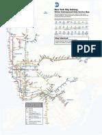 2017 Winterguide Subway Map